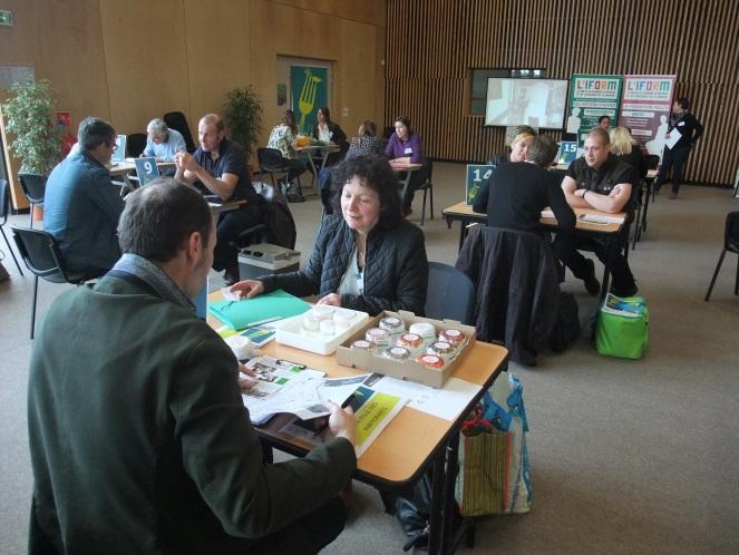 Speed-meeting à l'IFORM, Centre de Formation d'Apprentis de la Chambre de Métiers et de l'Artisanat de la Manche à Coutances